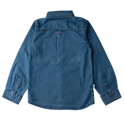 Camisa Algodón Blue