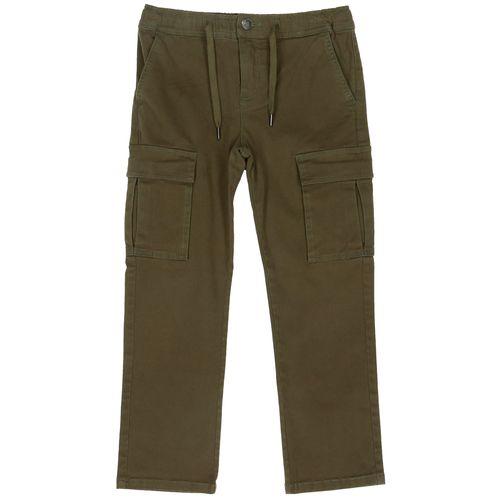Pantalón Algodón Bolsillos Cargo